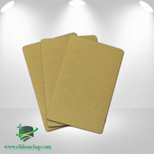 کارت طلایی PVC
